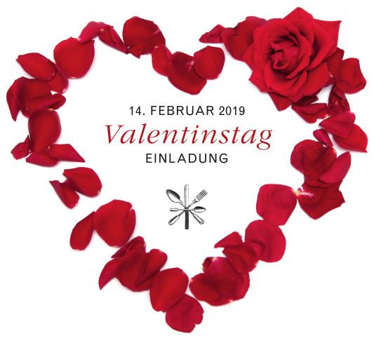 Restaurant Huber Munchen Valentinstag Einladung